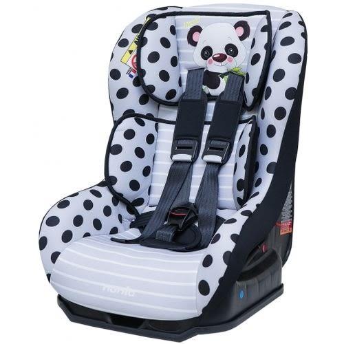 NANIA 納尼亞 0-4歲安全汽座-熊貓黑(安全座椅)FB00296[衛立兒生活館]