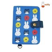 【SAS】日本限定 miffy 米菲兔 cat小花版 卡片收納包 / 卡夾包 / 證件收納包