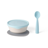 Miniware 天然聚乳酸兒童學習餐具 新生寶寶組-香草薄荷