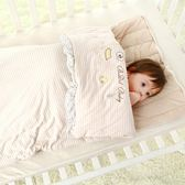 春秋冬季純棉嬰兒睡袋新生兒加厚款寶寶嬰幼兒小孩防踢被兒童被子【非凡】