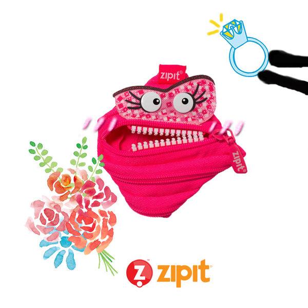 Zipit Talking 對話怪獸拉鍊包-(小)桃粉