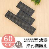 收納架置物架層架【 類】60X35 公分烤黑沖孔圍籬組dayneeds