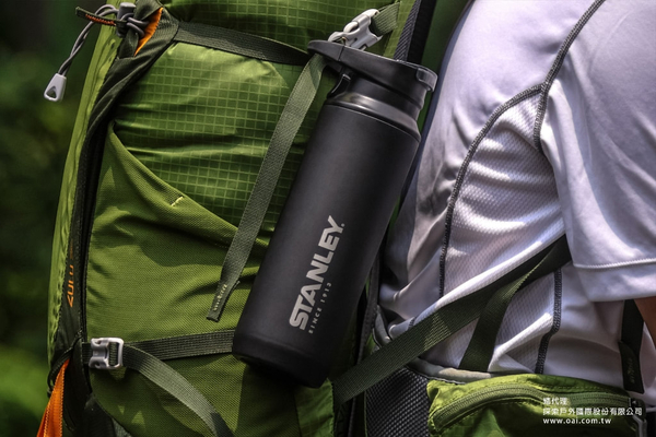 Stanley 美國品牌 登山系列 真空保溫瓶 保溫瓶/ 保冷瓶 0.47L (黑) (10-02285)