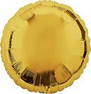 18吋圓形鋁箔氣球(不含氣)-璀璨金
