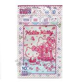 〔小禮堂〕Hello Kitty 透明夾鏈袋《L.10入.紅.糖果》拉鍊袋.分裝袋.銅板小物 4573135-57375