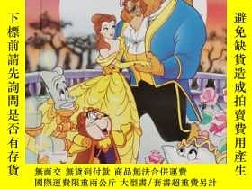 二手書博民逛書店Beauty罕見and the Beast 美女與野獸Y23470 Disney Disney