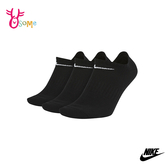 NIKE EVERYDAY LIGHTWEIGHT NO-SHOW 訓練襪 襪子 短襪運動襪 SX468#黑色◆OSOME奧森鞋業