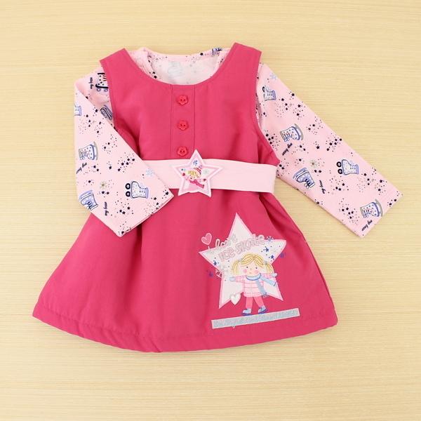 【愛的世界】背心裙套裝禮盒/6個月~2歲-台灣製- ---禮盒推薦