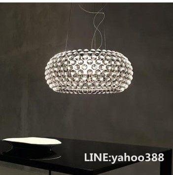 離子燈 客廳餐廳水晶燈飾 宙斯的汗珠 35CM