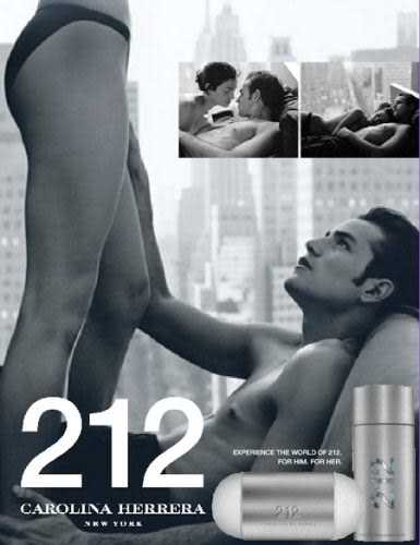 Carolina Herrera 212 都會男性香水100ML【UR8D】
