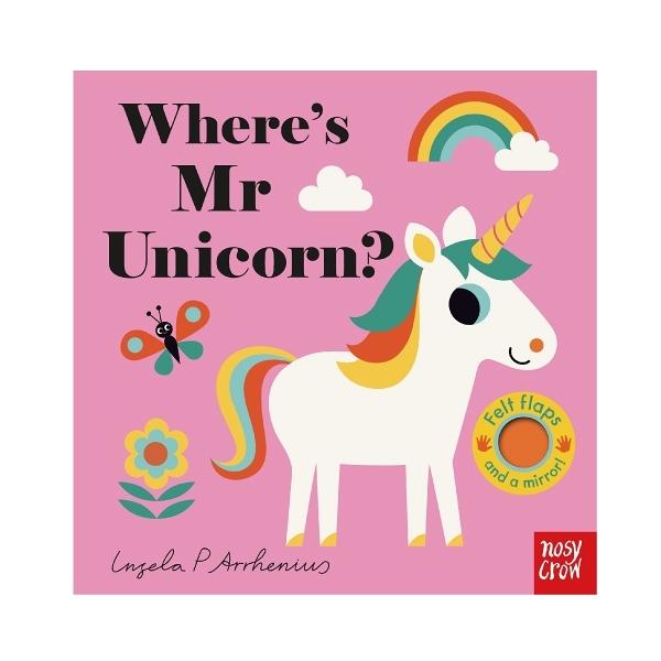 Where's Mr Unicorn? 獨角獸在哪裡?不織布翻翻書