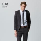 商務生活。五合一機能布。灰色修身功能性西裝外套-MIT【11100】