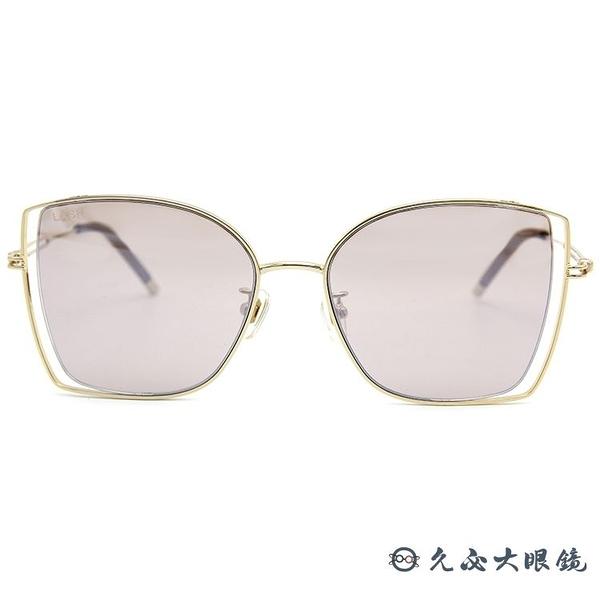 LASH 墨鏡 FLOAT MG16 (金) 蝶形 韓國 太陽眼鏡 久必大眼鏡