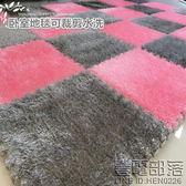 臥室滿鋪地毯拼圖絨面泡沫墊榻榻米床邊毯可裁剪水洗【壹電部落】