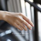 S925純銀甜美.自然.氣質戒指-維多利...
