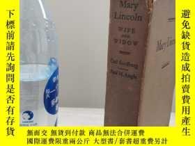 二手書博民逛書店MARY罕見LINCOLN(WIFE AND WIDOW) CA