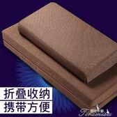 佛墊-拜佛墊冥想靜坐禪墊家用折疊加厚布藝椰棕跪拜墊  提拉米蘇