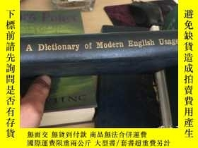 二手書博民逛書店MODERN罕見ENGLISH USAGE MODERN ENGLISH USAGEY21150 出版1