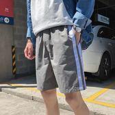 新品港風薄款男士短褲韓版青年寬鬆學生五分短褲男沙灘褲