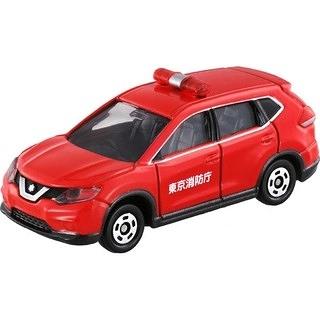 【 TOMICA 火柴盒小汽車 】TM001 NISSAN X-TRAIL FIRE CHIEF CAR  /  JOYBUS玩具百貨