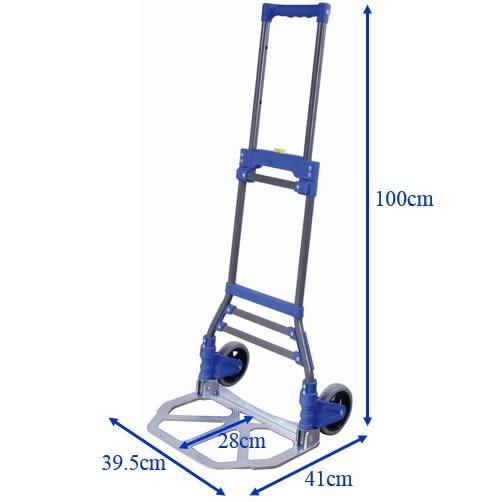 【精捷順】鐵製折疊手推車p03i-0002 (50kg)