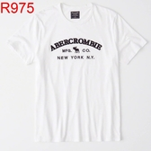 AF Abercrombie & Fitch A&F A & F 男 T-SHIRT AF R975