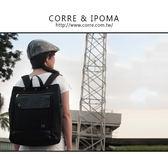 CORRE【PR003】造型後背包 黑/藍兩色