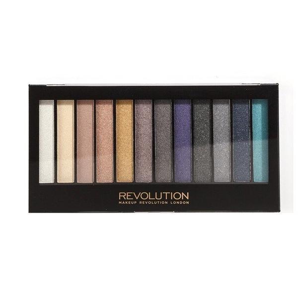 英國 Makeup Revolution Day to night 眼影盤 帶珠光及啞光 眼影盤
