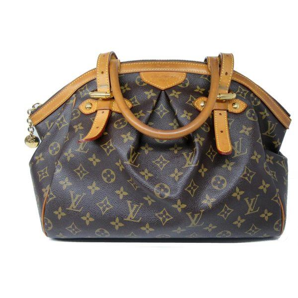 【9成新】Louis Vuitton LV M40144 TIVOLI GM 經典花紋肩背包.大#0現金價$25800