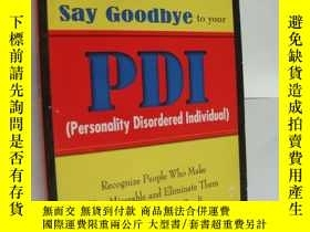 二手書博民逛書店Say罕見Goodbye to you PDI (persona