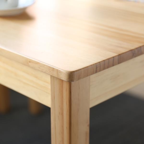 【MODERN DECO】黛納日式木作桌椅4件組/一桌二椅一凳/DIY自行組裝/H&D東稻家居