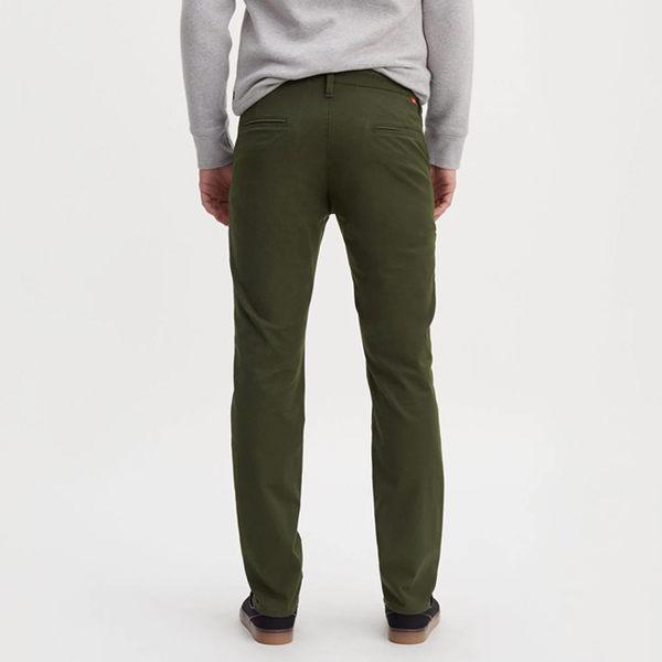 [買1送1]Levis 男款 511 低腰修身窄管休閒褲 / COOL 機能快乾防潑水 / 四向超彈力延展