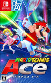 Switch-瑪利歐網球 王牌高手  中文版 PLAY-小無電玩