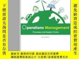 二手書博民逛書店Operations罕見Management: Processe