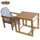 哈諾寶貝寶寶餐椅多功能實木兒童餐椅吃飯宜家餐桌座椅子嬰兒用凳 LP