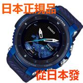 免運費 日本正規貨 CASIO PROTREK Smart Outdoor Watch Pro Trek Smart 中性手錶 WSD-F30-BU