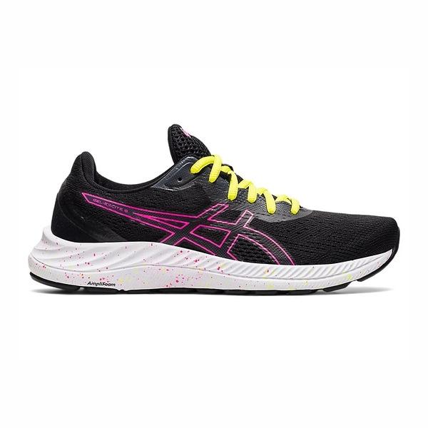 Asics Gel-excite [1012A916-006] 女鞋 慢跑 運動 休閒 輕量 支撐 緩衝 黑 桃紅