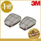 【醫碩科技】3M-6005 甲醛 福馬林 專用 濾罐 適用6200/7502口罩 1組兩入