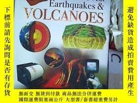 二手書博民逛書店Wonders罕見of Learning DISCOVER Earthquakes & VOLCANOES 學習的