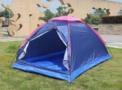 雙人帳篷 戶外野營防雨 沙灘遮陽【藍星居家】