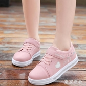 童鞋女童小白鞋新款韓版夏季小學生女孩板鞋兒童運動休閒單鞋 QQ27972『東京衣社』