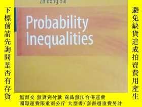 二手書博民逛書店概率不等式(英文版)罕見[Probability Inequal