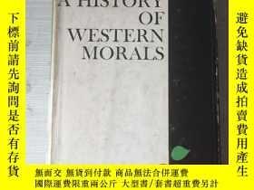 二手書博民逛書店A罕見history of western morals his