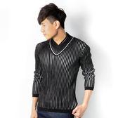 JUN 黑白條紋毛衣
