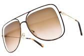 Chloe 太陽眼鏡 CE130S 213 (琥珀棕金-漸層棕鏡片) 小臉飛行造型款 墨鏡 # 金橘眼鏡