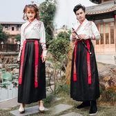 中國風改良情侶款漢服漢元素傳統古裝武俠風【聚寶屋】