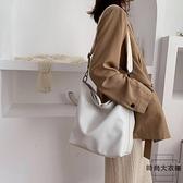 寬帶大包包女時尚斜挎單肩包百搭購物袋【時尚大衣櫥】