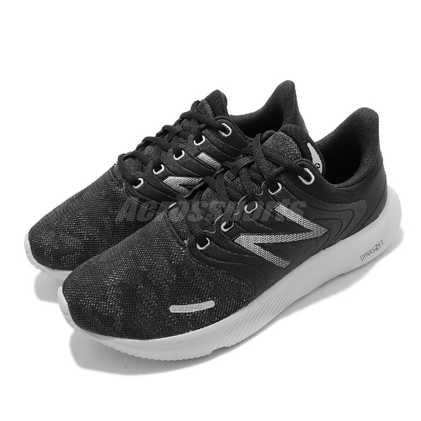 New Balance 慢跑鞋 068 寬楦 黑 銀 NB 路跑 跑步 運動鞋 【ACS】 W068LKD