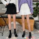 包臀裙 2021新款韓版春季荷葉邊半身裙女裝魚尾裙子高腰黑色A字包臀短裙 愛丫 免運