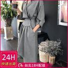 ◆ 顏色 / 千鳥紋、黑色 ◆ 材質 / 聚酯纖維 ◆ 秋冬簡約設計感不規則連身長裙✨